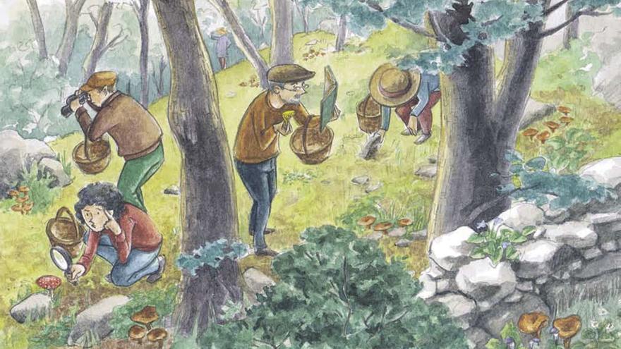 Cocinando el bosque