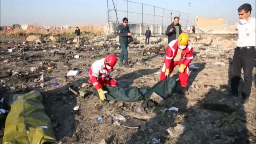 S'estavella a Iran un avió ucraïnès amb 167 passatgers