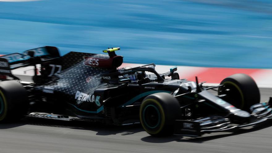 Hamilton manda en los segundos libres del GP de España con Sainz séptimo