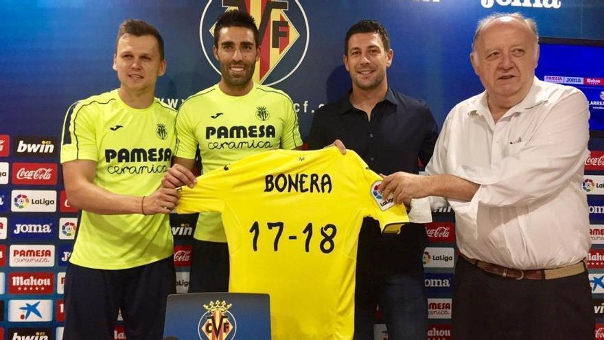 """Bonera: """"Me siento bien y agradecido por seguir en el Villarreal"""""""