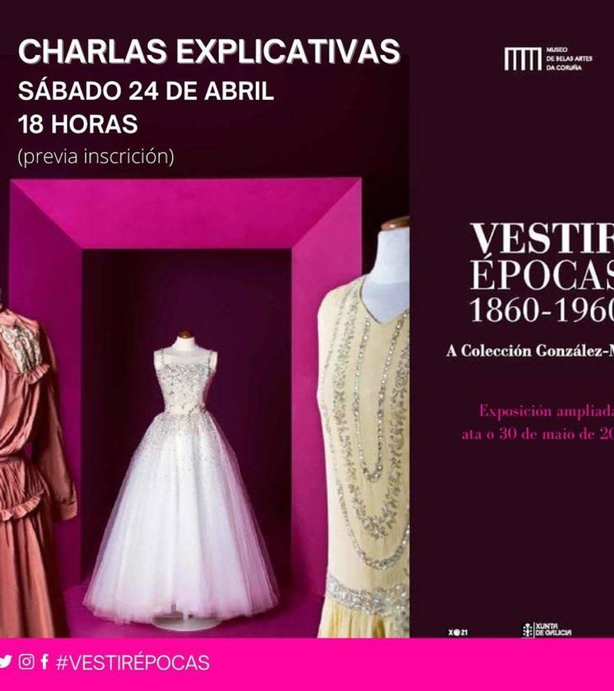 Charlas explicativas da exposición Vestir épocas 1860-1960