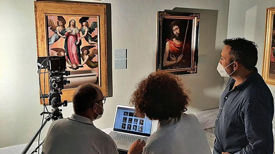 La «mano prodigiosa» que se oculta bajo las pinturas
