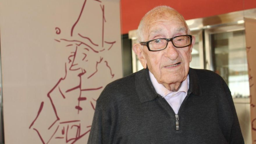 Pepitu Gifre, 100 anys: «A la guerra em feien ajupir perquè era el més jove de tots»