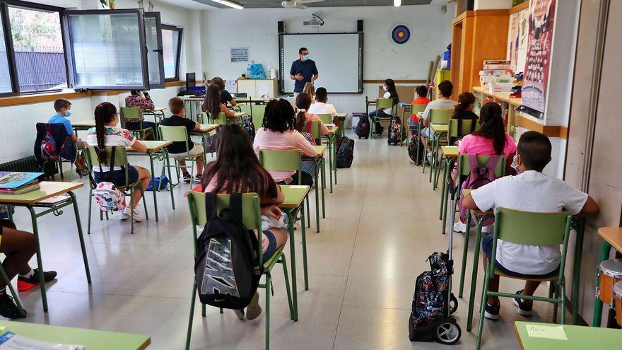 Solo 28 aulas confinadas en la segunda semana de octubre