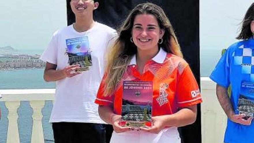 Lucía Follana se proclama Campeona de España sub-16
