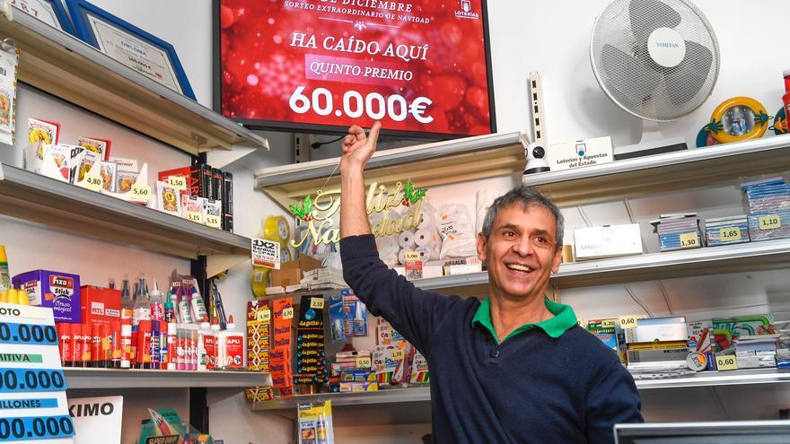 Celebración de la Lotería de Navidad en Santa Lucía de Tirajana