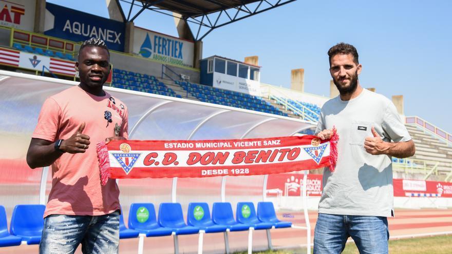 Dani Martínez y Clyde Essomba quieren dar guerra con el Don Benito