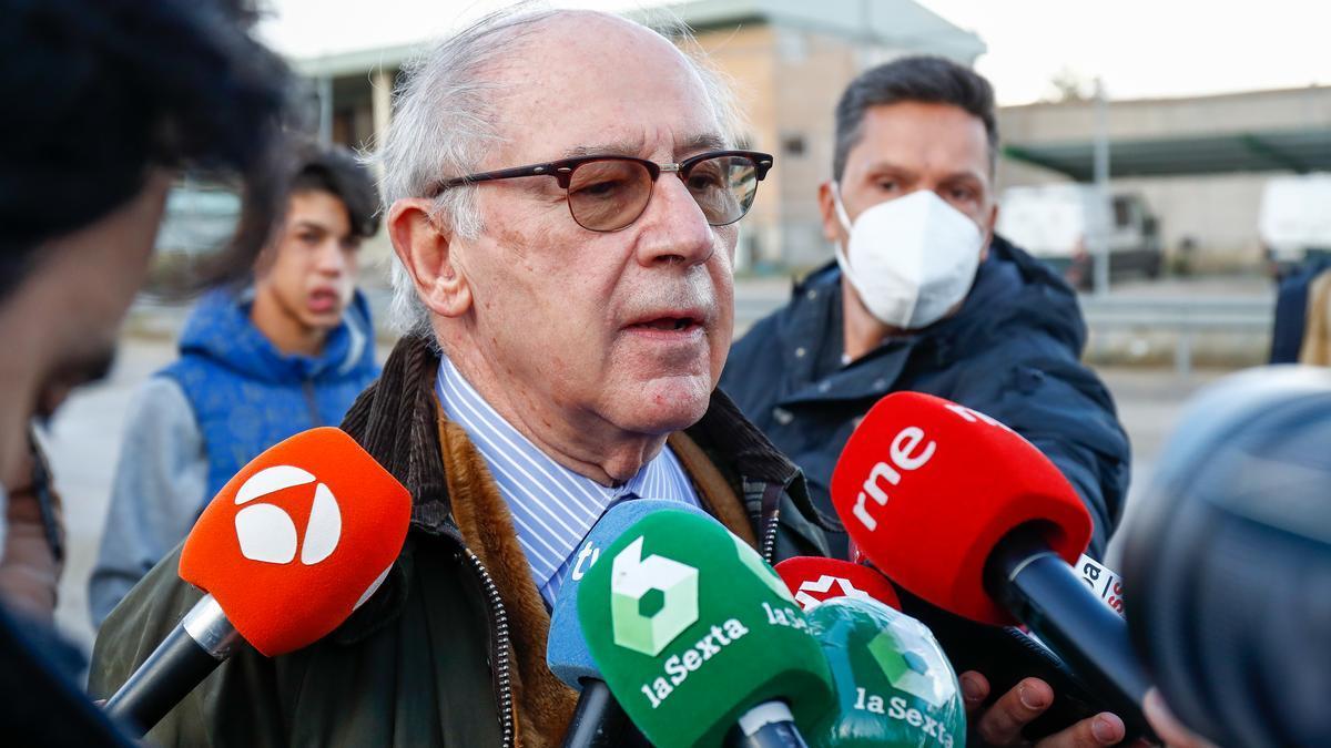 El exministro de Economía, Rodrigo Rato