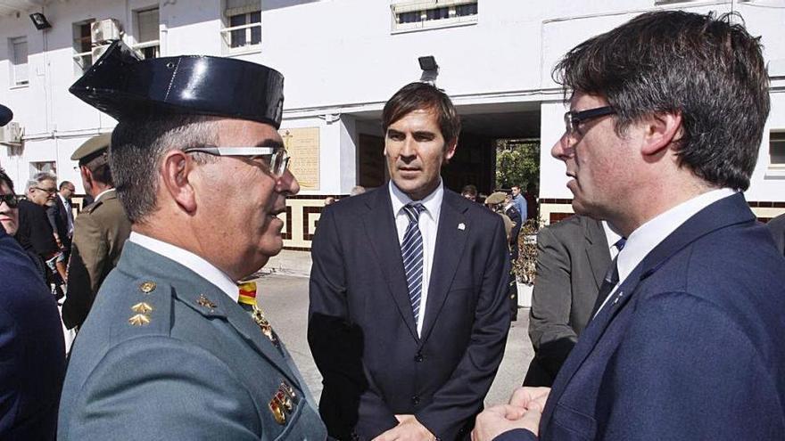 El nou cap de la Guàrdia Civil a Catalunya: «Vaig tenir una bona relació amb Puigdemont»