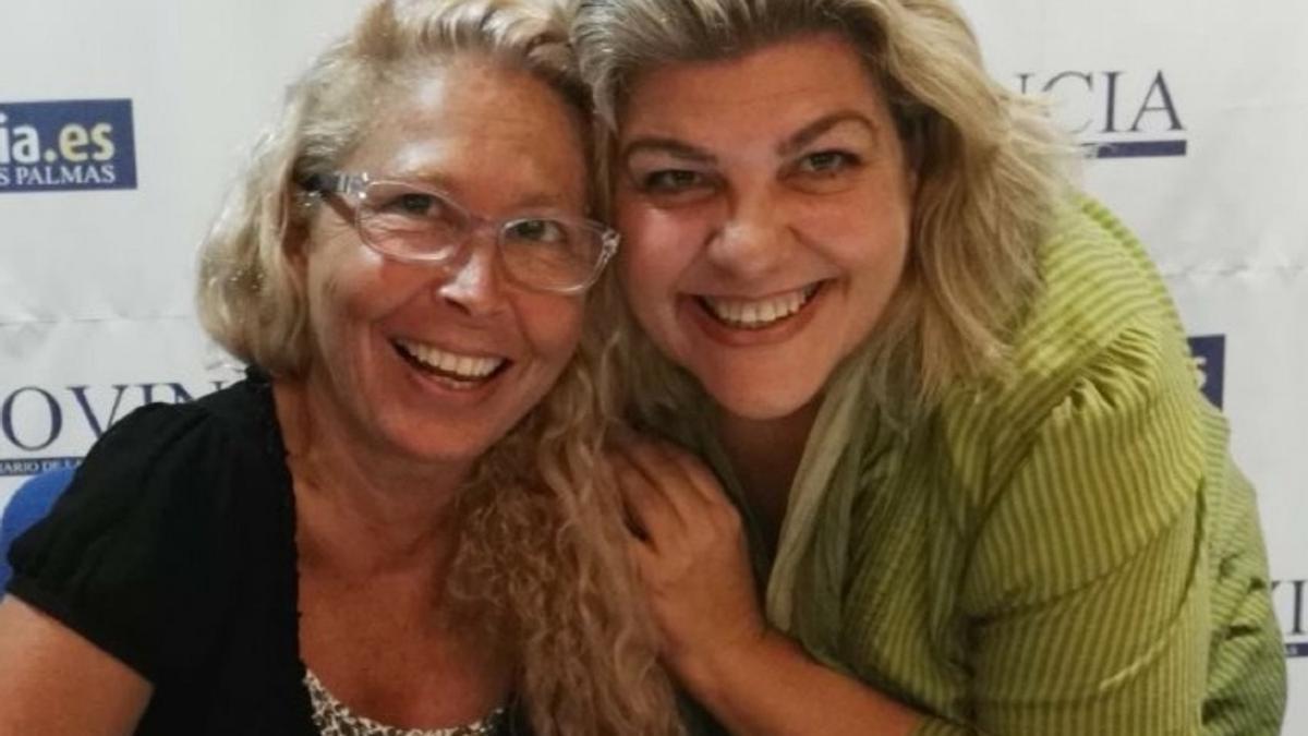 Martina Villar y Mayte Martín.