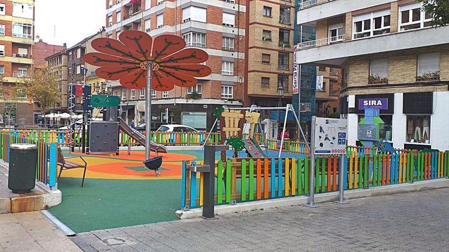 Nuevos juegos infantiles en cinco zonas de la ciudad