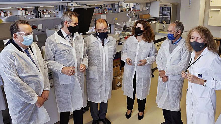 Un centro gallego para crear nuevos fármacos opta a los fondos de la UE