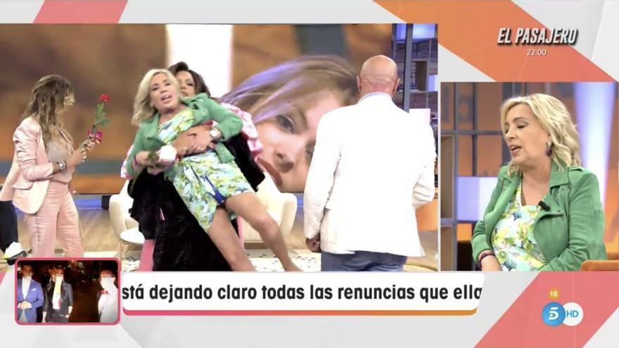 Carmen Borrego y Alejandra Rubio, zarandeadas por Torito