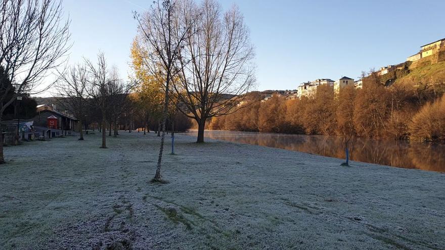 Puebla de Sanabria amanece helada y bajo cero