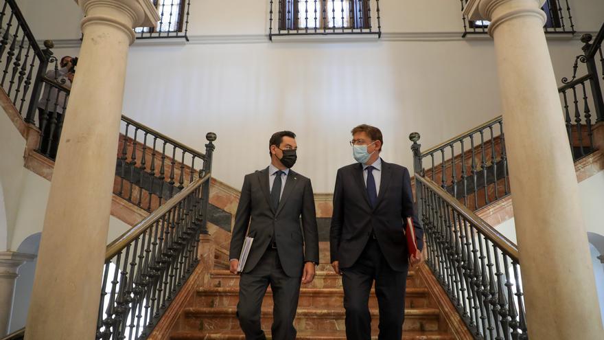 Puig y Bonilla pactan las bases para acabar con la infrafinanciación