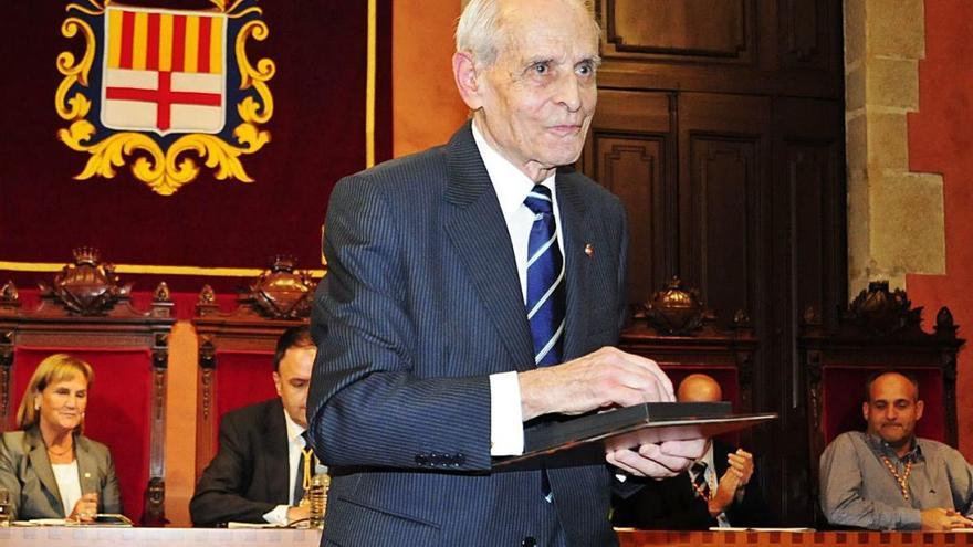 Mor als 99 anys l'advocat sallentí Xavier Sitjes, degà dels historiadors bagencs