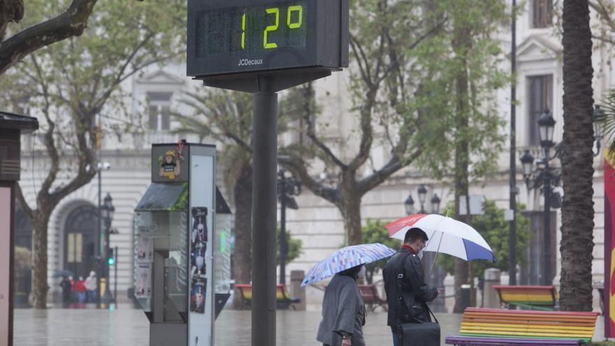 El tiempo en Valencia hoy: más frío y sin lluvias (hasta la noche)