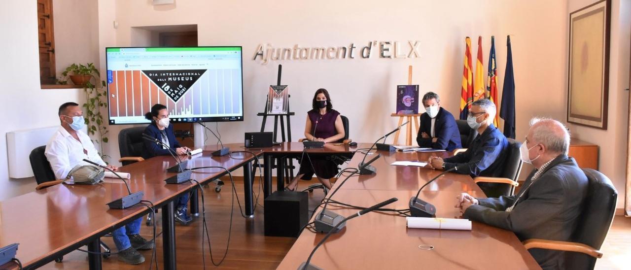 La reunión hoy de los responsables de museos de Elche