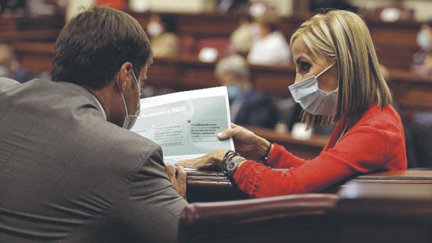 Navarro avisa que aún no hay garantías de fondos para el plan de reactivación