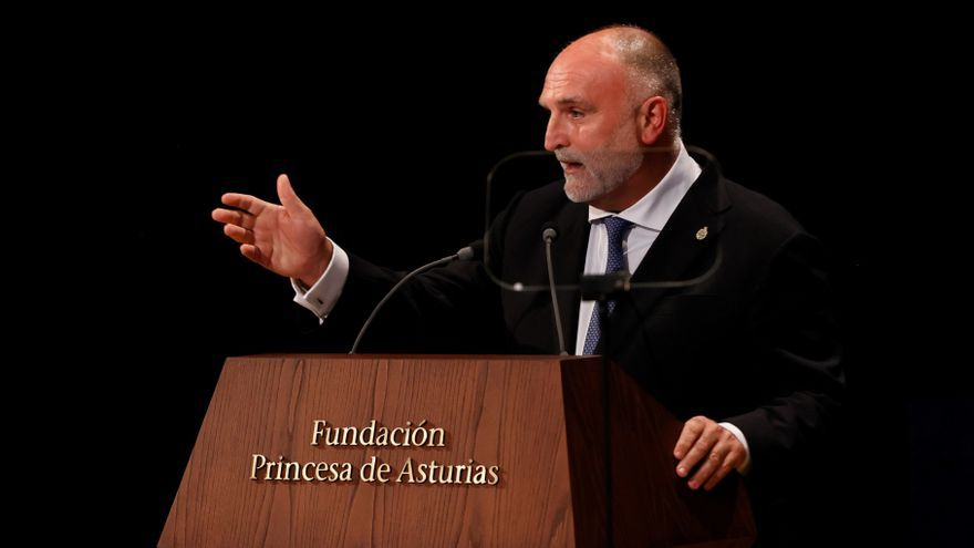 """José Andrés: """"Nuestro futuro depende de que el mundo se alimente mejor"""""""