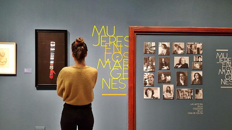 Ellas conquistan los museos