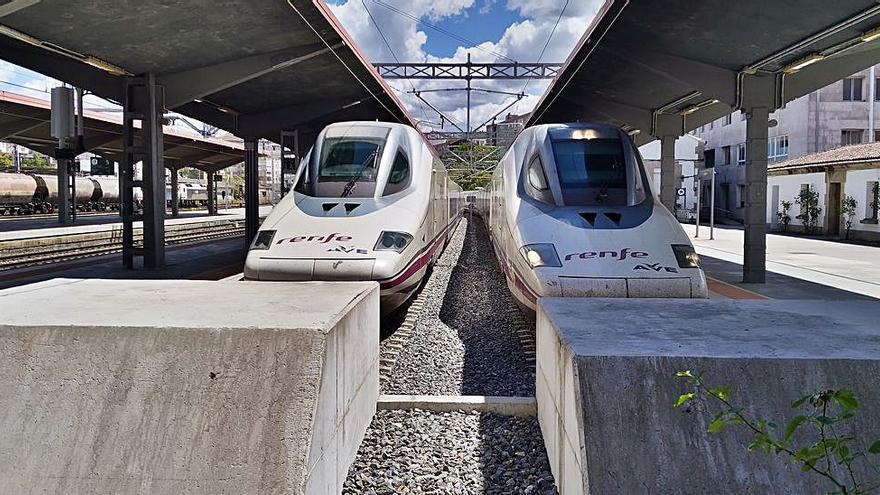 ADIF ejecuta pruebas a máxima velocidad en el tramo de Pedralba de la Pradería (Zamora) a Orense