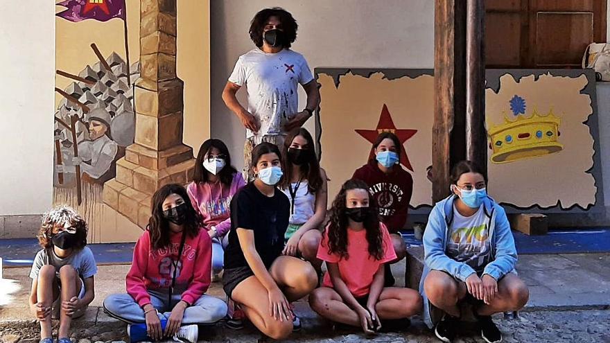 Concluye la Escuela de Muralismo en Toro