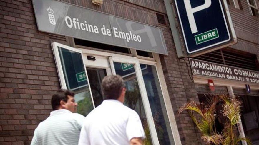 El paro registrado creció en enero en Canarias en 9.793 personas, un 3,63 %