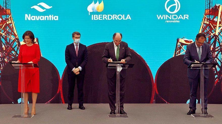 """La construcción de 62 """"jackets"""" en Navantia Fene supondrá trabajo para 1.000 operarios"""