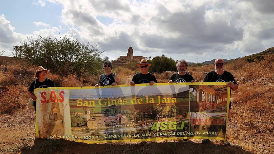 Más vandalismo en el monasterio en el día grande de San Ginés