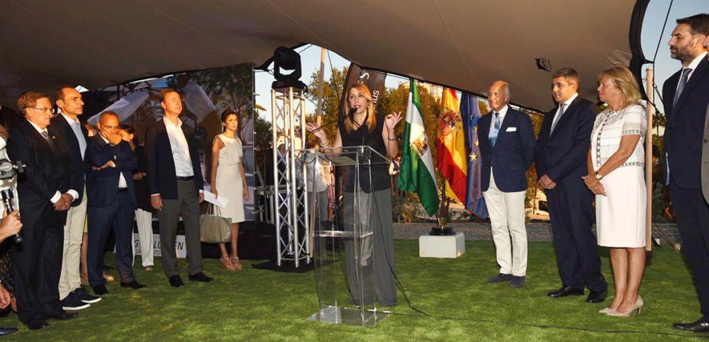 En Marbella (Málaga), la presidenta de la Junta ...