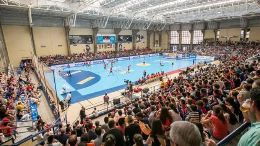 El Pitiu Rochel, sede de la final de la Copa del Rey de balonmano