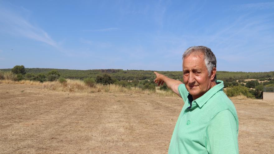 El propietari de la muntanya del foc de Ventalló: «Aquí estem acostumats a veure molts focs»