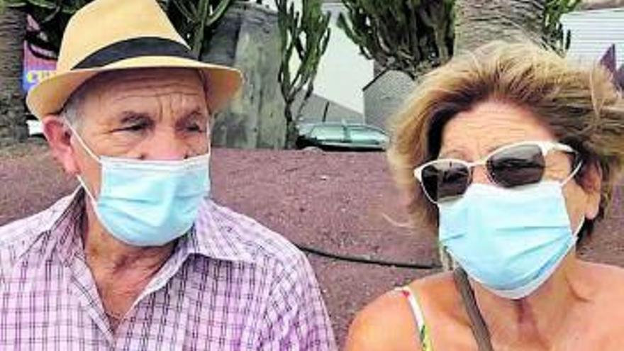Rosa y Toño, una pareja  de agricultores ante su tercera erupción volcánica