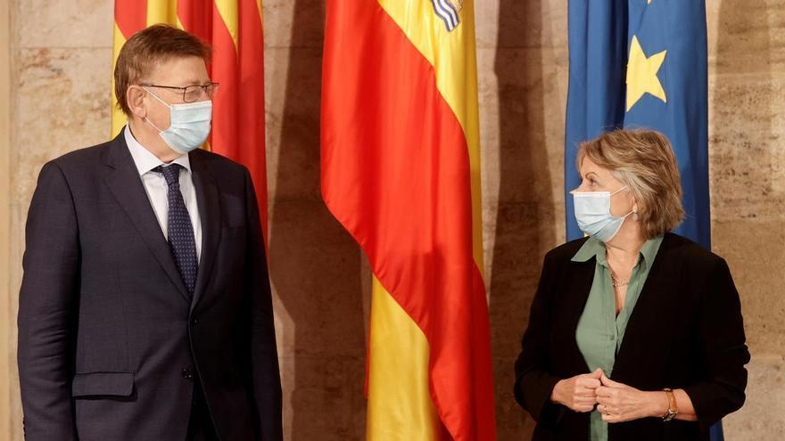 """Puig destaca la """"gestión adecuada"""" de las ayudas europeas: la Generalitat ya ha ejecutado el 95% de los fondos ordinarios"""