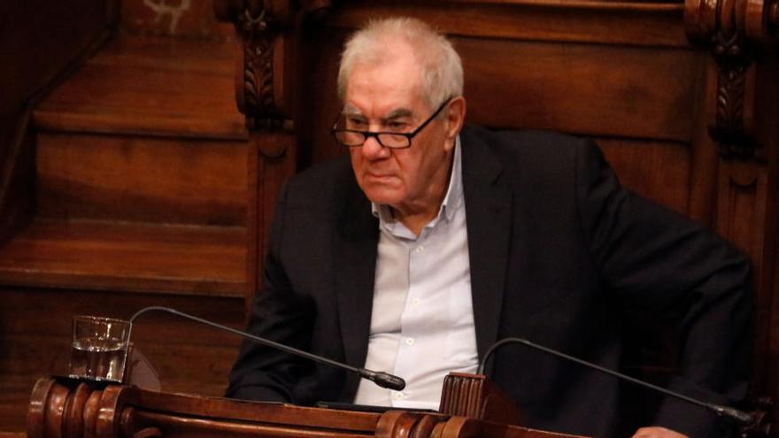 Ernest Maragall carrega contra Illa per «abusar» de les referències al llegat del seu germà Pasqual