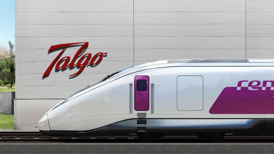 Talgo estrenará en 2023 su nuevo tren de hidrógeno
