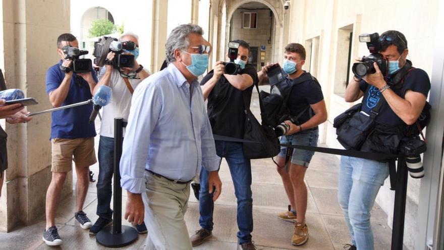 Arranca el juicio por los presuntos amaños del Plan General de Alicante