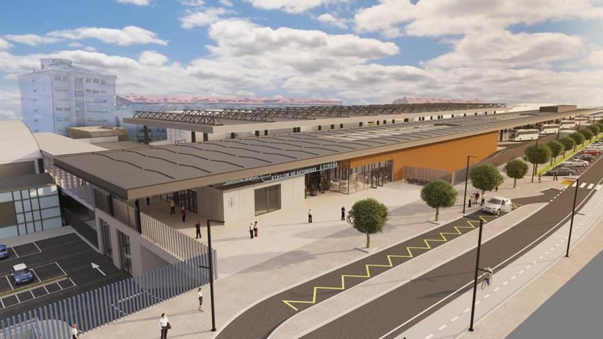 La Xunta invertirá el próximo año 4,5 millones de los 17,4 que proyecta para la intermodal de A Coruña
