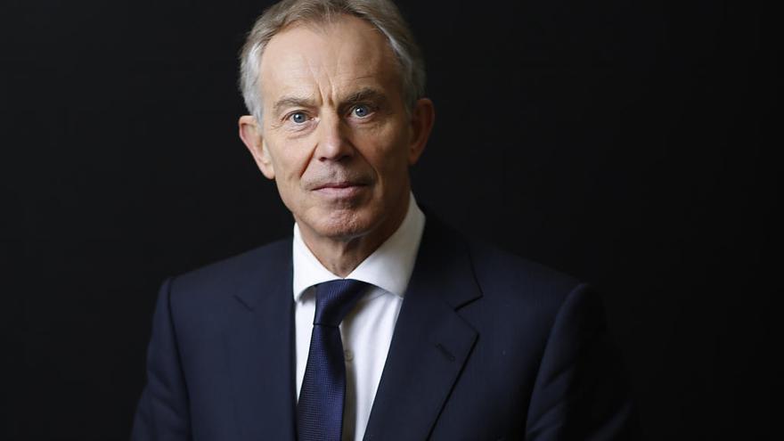 Tony Blair hace campaña en contra del 'Brexit duro'