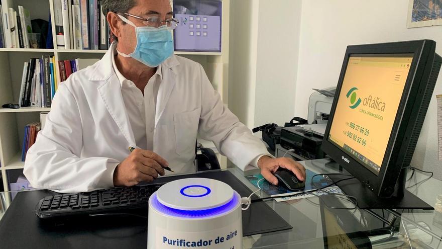 Oftálica Clínica Oftalmológica de Alicante ha incorporado a todas sus instalaciones filtros especiales anti Covid.
