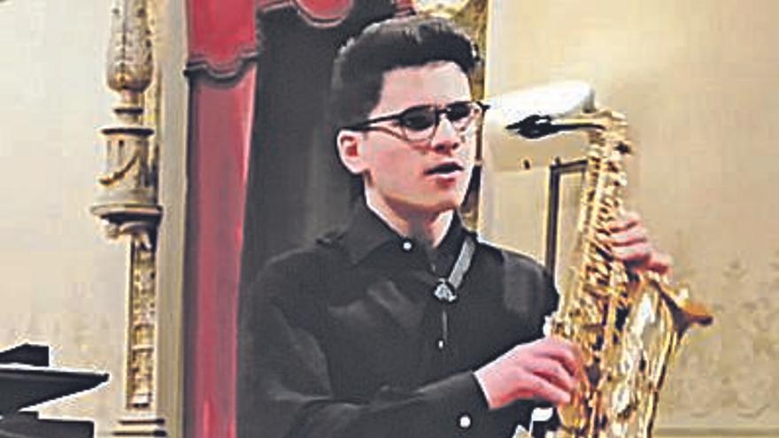 El baionés Jaime Estévez, premiado en el Conservatorio Superior de las Islas Baleares