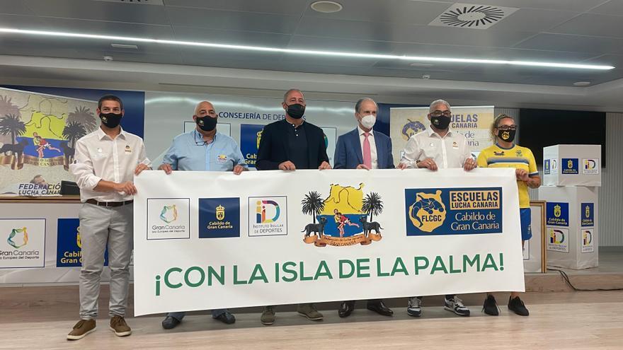 La V edición de las Escuelas Lucha Canaria Cabildo de Gran Canaria visitará todos los municipios