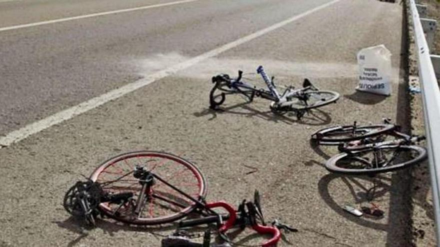 Ciclismo: Un deporte de riesgo