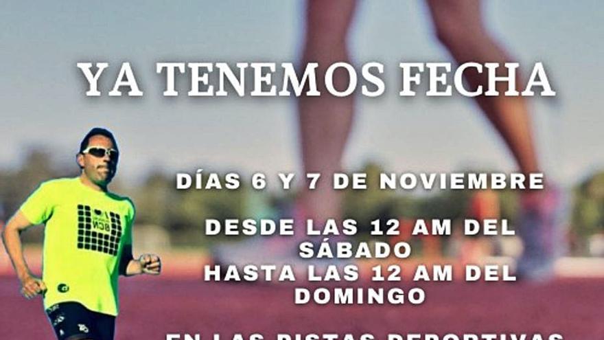 Correr 24 horas por Hugo, el nuevo reto de Gaspar Cadenas