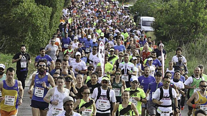 La Ibiza Media Maratón, otra gran prueba que se aplaza en Ibiza