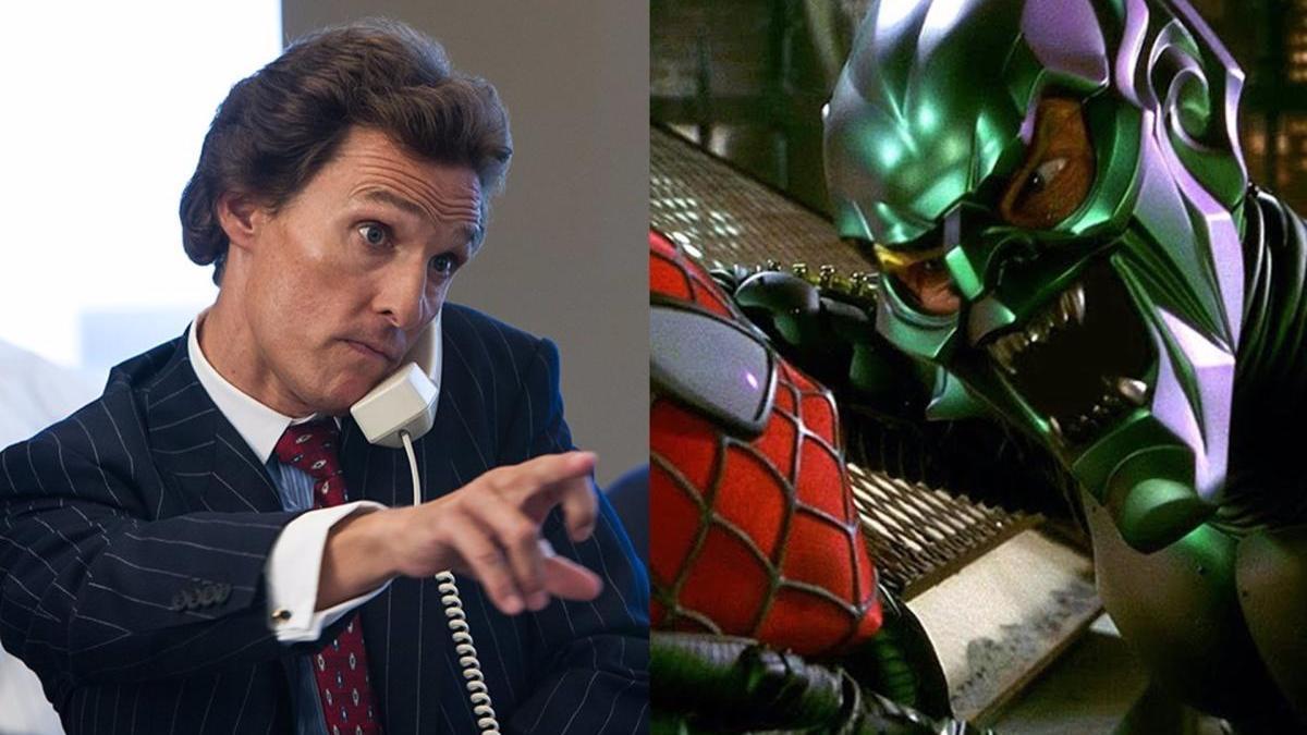 Matthew McConaughey podría ser el Duende Verde en 'Spider-Man 3'.
