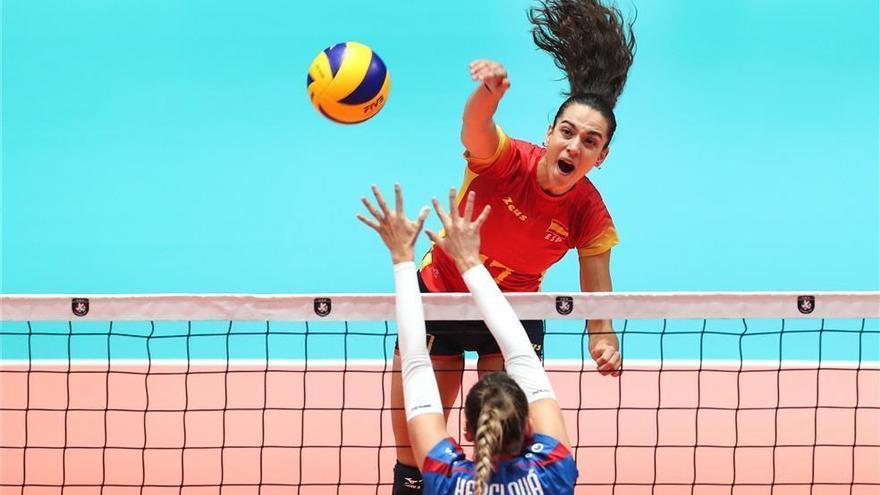 España cae ante Eslovaquia en su regreso al Eurovolley