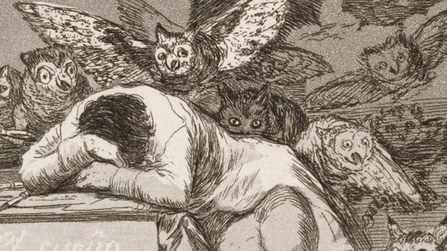 Hallada en Santander una primera edición de 'Los caprichos' de Goya con 80 estampas