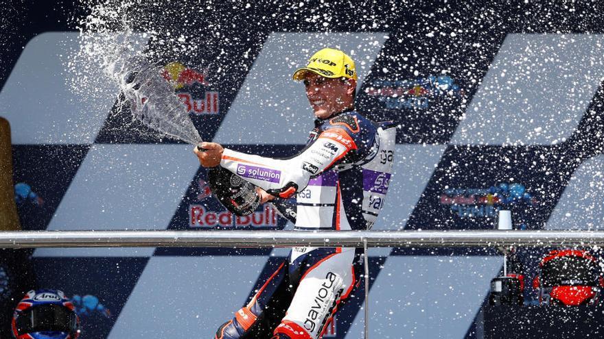 Arenas logra su segunda victoria consecutiva en Moto3